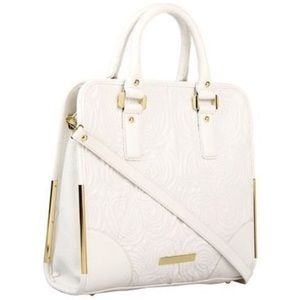 Crystal Quilted Top Handle Shopper